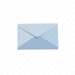 blue, email, letter, mail, message, send icon