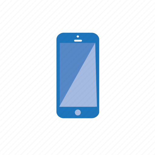 blue, call, communication, mobile, phone, smartphone icon