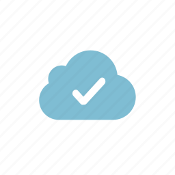 cloud, success, upload icon