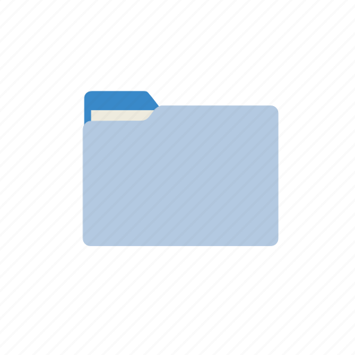 blue, document, documents, files, folder, office icon