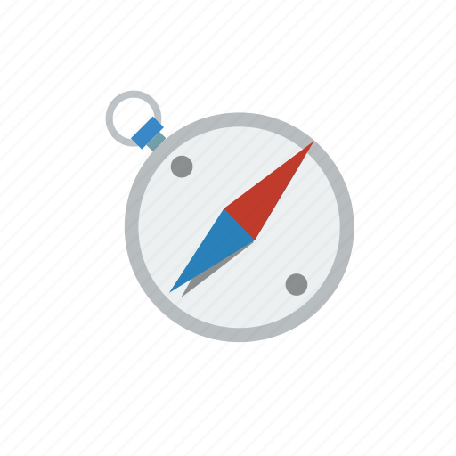 compass, direction, location, navigate, navigation, retro icon