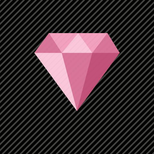 diamond, diamonds, jewel, jewelry, pink icon