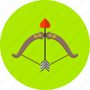 arrow, arrows, bow, celebration, creation, love, romantic icon