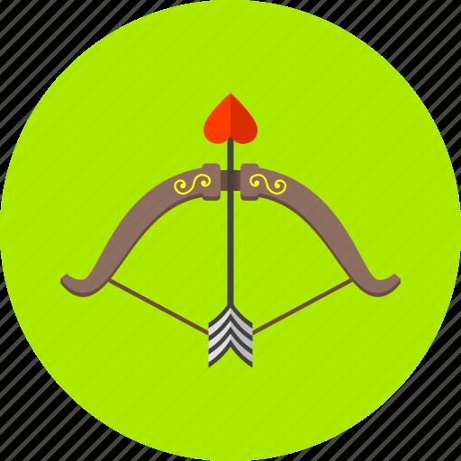 arrow, arrows, bow, celebration, creation, love, romantic icon