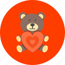bear, baby, kids, love, present, teddy, toy