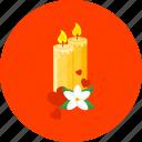 candles, celebration, christmas, decoration, love, party, romance