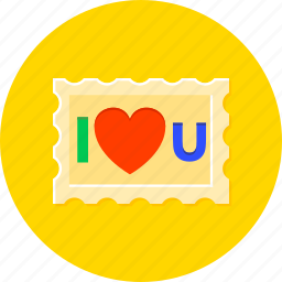 celebration, happyness, heart, iloveyou, love, mark, romance icon