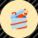 present, birthday, gift, love, party, romance, surprise