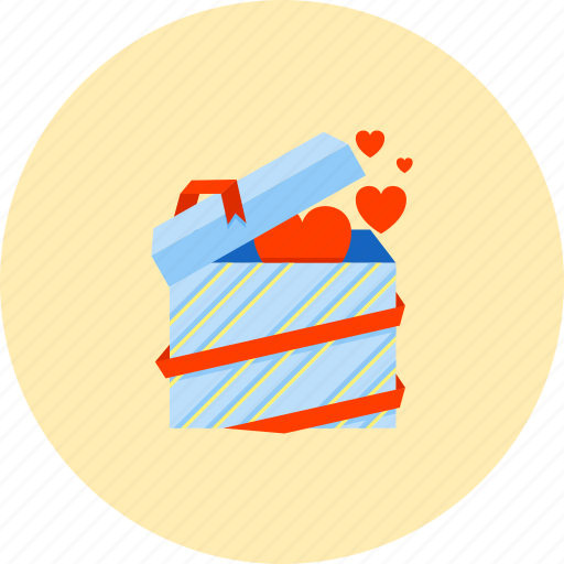 Present, birthday, gift, love, party, romance, surprise icon - Download on Iconfinder