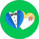 couple, heart, love, marriage, romantic, valentine's, wedding icon