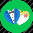 wedding, couple, heart, love, marriage, romantic, valentine's