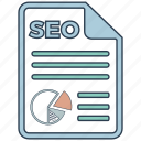 mobile marketing, report, seo, seo icons, seo pack, seo services, web design icon