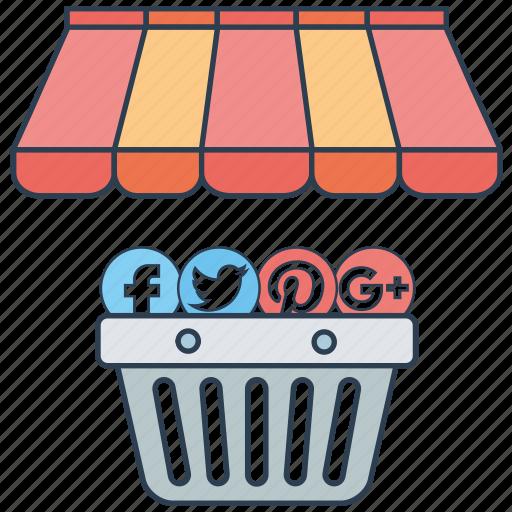 marketing, media, mobile marketing, seo, seo services, social, web design icon