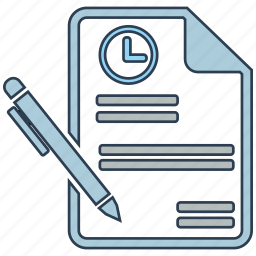 contract, long, mobile marketing, seo icons, seo pack, seo services, term icon
