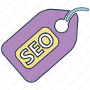 mobile marketing, seo, seo icons, seo pack, seo services, tag, web design icon
