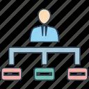 hierarchy, mobile marketing, seo, seo pack, seo services, web design icon