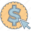 click, mobile marketing, pay, seo icons, seo pack, seo services, web design icon