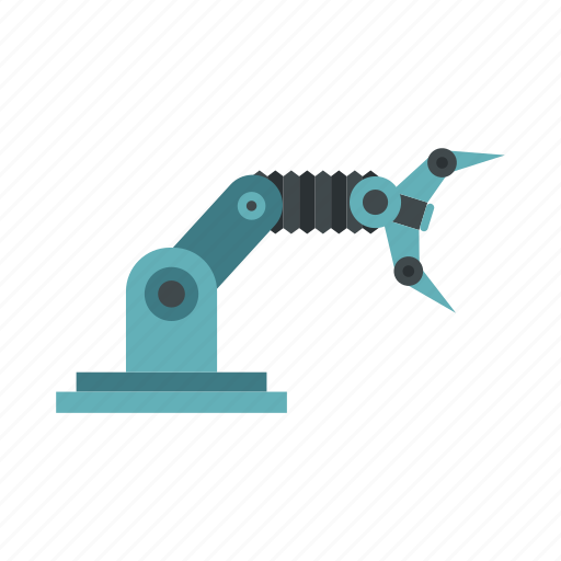 arm, device, industrial, machine, robot, robotic, technology icon