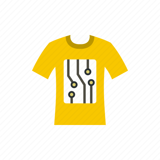compare, electronic, motion, sensors, t-shirt, testing, track icon