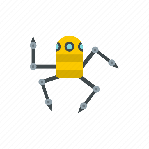 machine, metallic, nanotechnology, robot, science, spider, technology icon