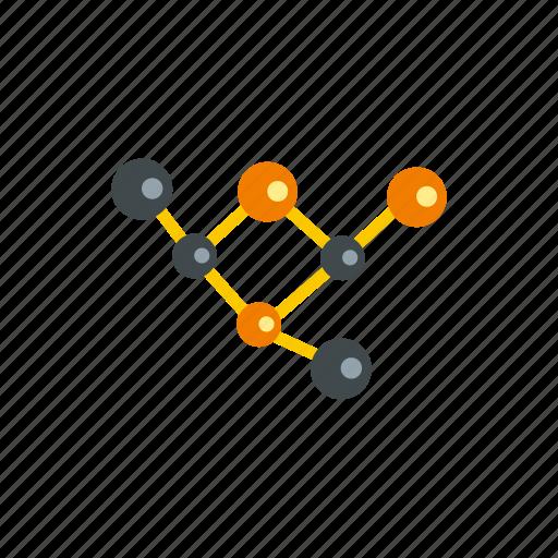 atom, chemistry, dna, medicine, molecules, science, technology icon