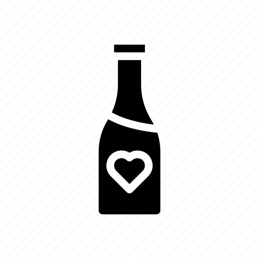 alcohol, beverage, bottle, drink, glass, restaurant icon