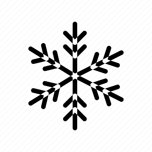 cloudy, cold, ice, snowflakes, weather icon