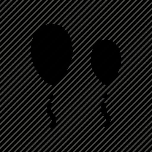 air, balloons, birthday, bubble, party icon