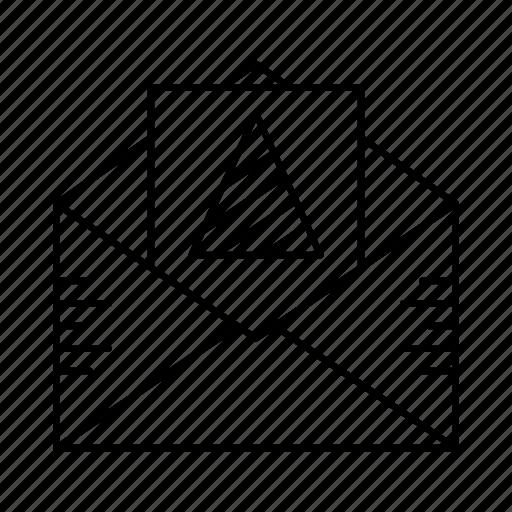 document, envelope, inbox, letter, post icon