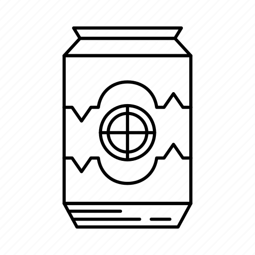 beverage, can, cola, restaurant, soda, soft drink, tin pack icon