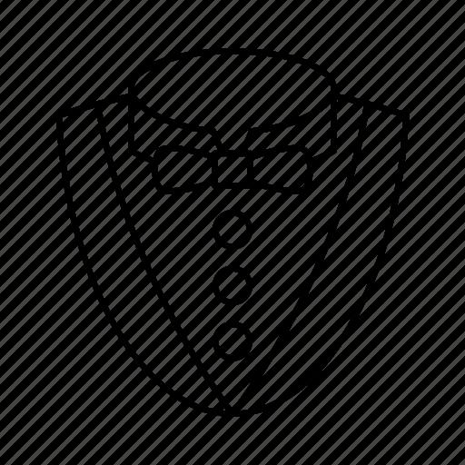 cloth, dress, man, person, shirt, suit, tie icon