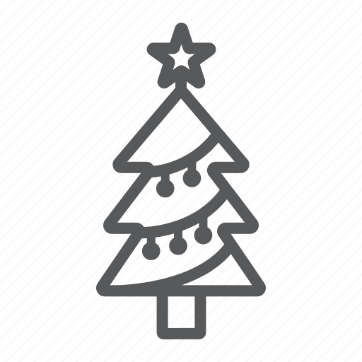 Christmas, decor, fir, new, tree, xmas, year icon - Download on Iconfinder
