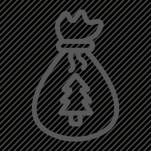 Bag, christmas, claus, gift, sack, santa, xmas icon - Download on Iconfinder