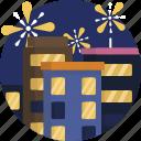 celebration, fireworks, light, midnight, new, night, year