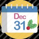 calendar, countdown, december, midnight, new, year