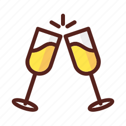 celebration, event, happy, holiday, new, party, year icon