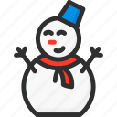 christmas, new, snow, snowman, xmas, year