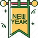 banner, background, poster, new year, sign, decoration, celebration