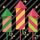 fireworks, celebration, festival, party, new year, crackers, rocket