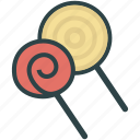candy, lollipop, sweets icon