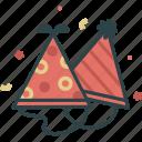 birthday, celebrate, hat, party