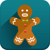 man cookies, new year icon