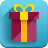 gift, new year icon