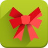 bow, new year icon