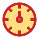 clock, event, new year, party, time icon