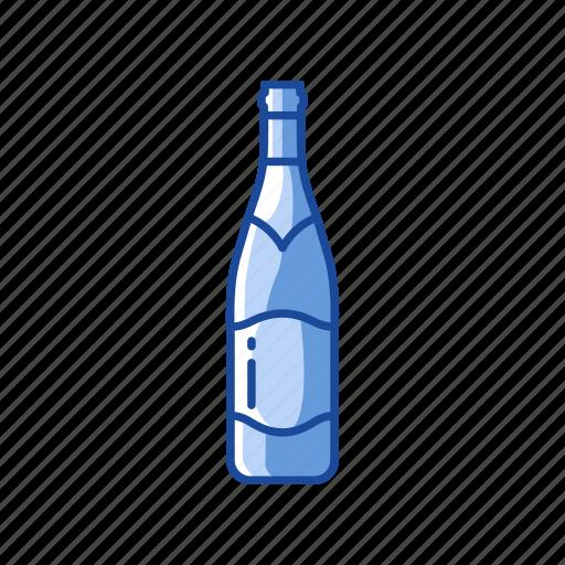celebration, liquor, sparkling wine, wine bottle icon
