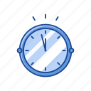 clock, midnight, new year's eve, time icon