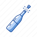 champagne, party, sparkling wine, wine icon