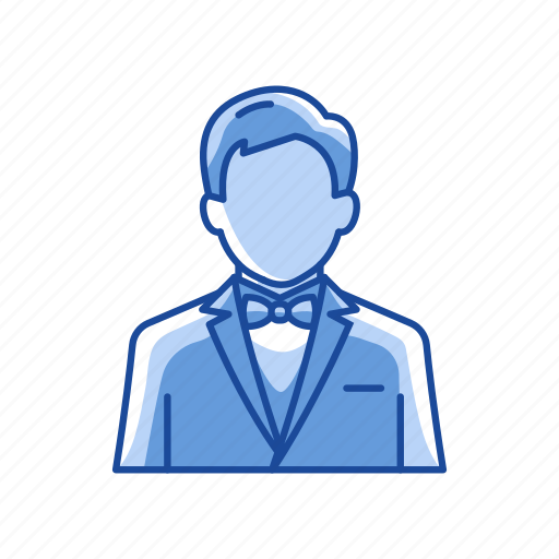 business attire, man, party, suit icon