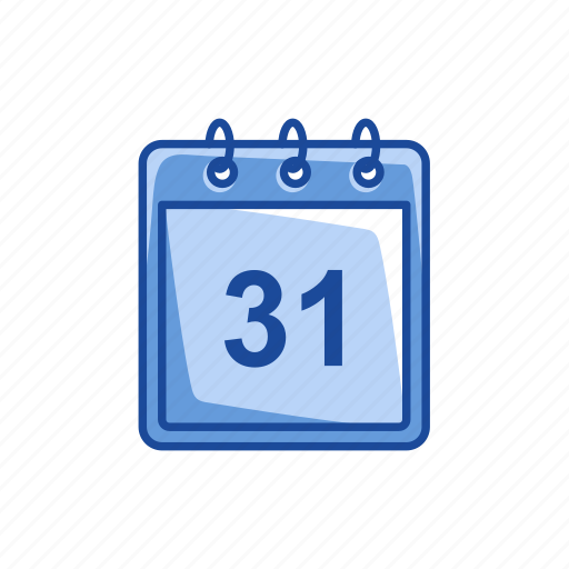 calendar, event, happy, new year's eve icon